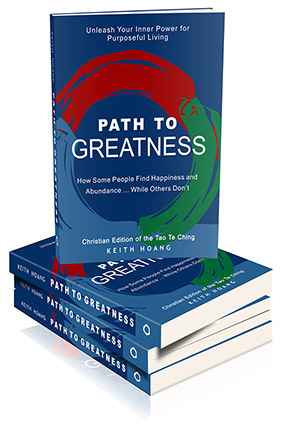 Path To Greatness Book - Christian Edition of the Tao Te Ching
