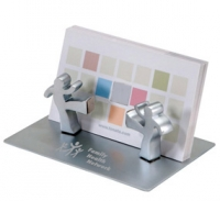 Personalized desk accessories card holders gifts by hansonellis working together magnetic figurines business card holder colourmoves