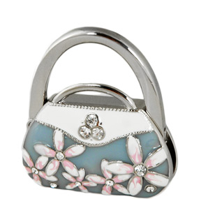 Folding Floral Purse Hook Hanger*