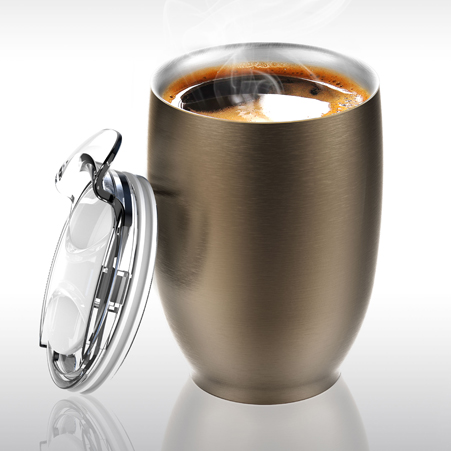 Thermal Stainless Steel Coffee Tea Insulated Cup