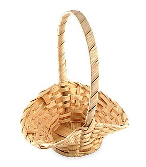 Mini Wicker Basket Favors (Set of 12)